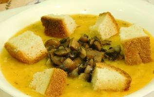 Гарбузовий суп – швидко, корисно, смачно
