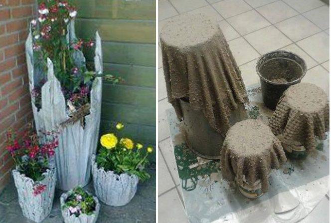 Бажано, щоб посудина для створення садової фігури була з пластику.