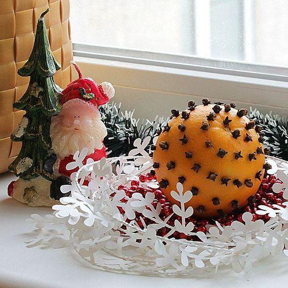 новорічний декор помандер