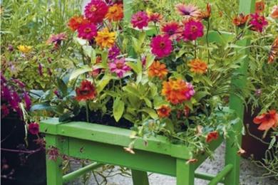 Старим предметам – нове життя в саду!