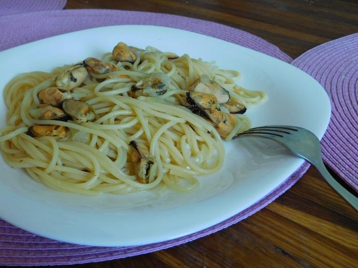 Мідії зі спагеті – страви нашвидкуруч