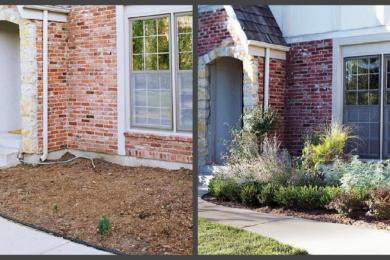 Ландшафтний дизайн подвір'я - до і після, фото 14