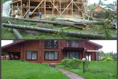 Ландшафтний дизайн подвір'я - до і після, фото 4