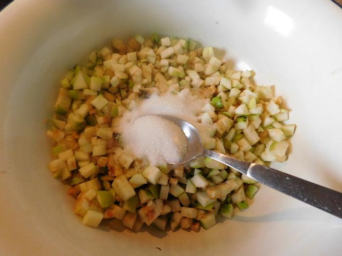 начинка для пиріжків з яблуками