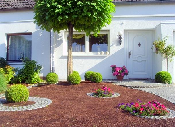Насипне покриття для двору