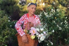 Людмила Воропаєва - власниця саду
