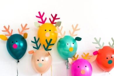 Олені з повітряних кульок