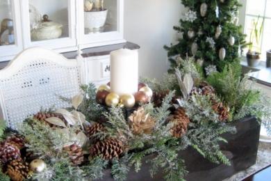 Новорічний декор столу
