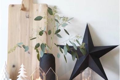Паперові зірки у новорічному декорі
