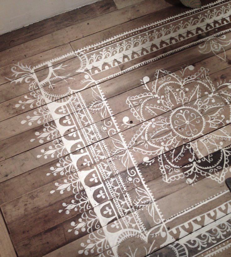 Намальований килим