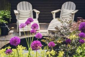 25 ідей затишних куточків для відпочинку у садку