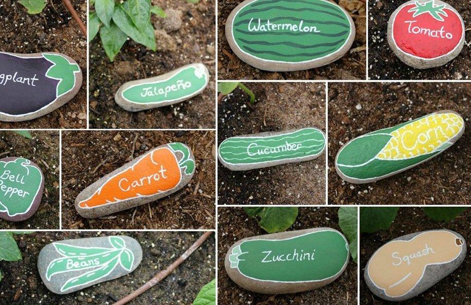 Маркери для рослин з каміння