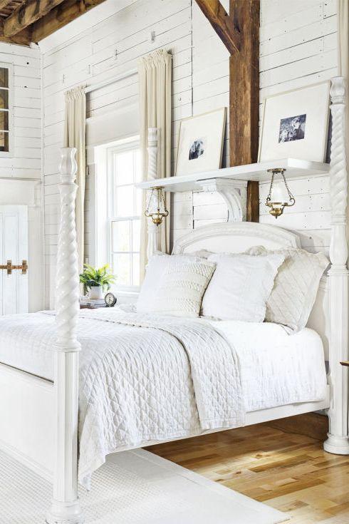Спальня — вся в білому