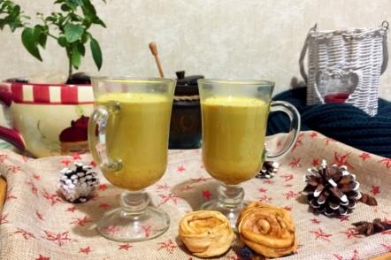 Куркума-латте, або золоте молоко
