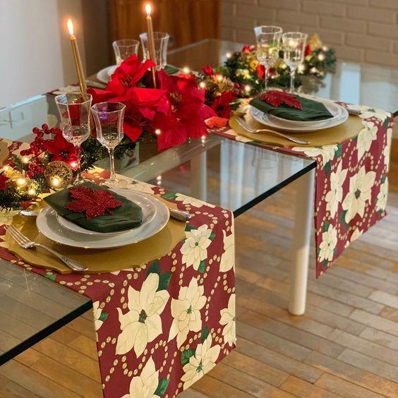Новорічний стіл — ідеї оформлення