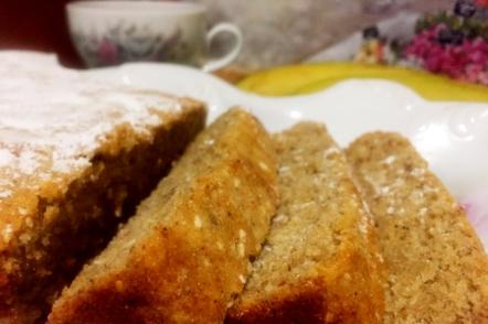 Швидкий банановий кекс до чаю — пісна домашня випічка