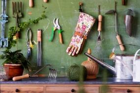Організація садових інструментів та іншого інвентарю — 45 ідей з фото