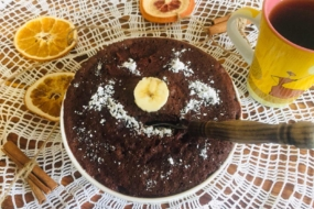Швидкий десерт в мікрохвильовці — бісквіт за 5 хвилин