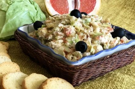 Салат з куркою і грейпфрутом — для тонкої талії і гарного настрою
