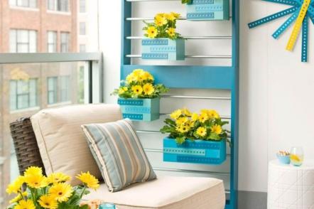 Вертикальне озеленення балкону — 60 ідей з фото