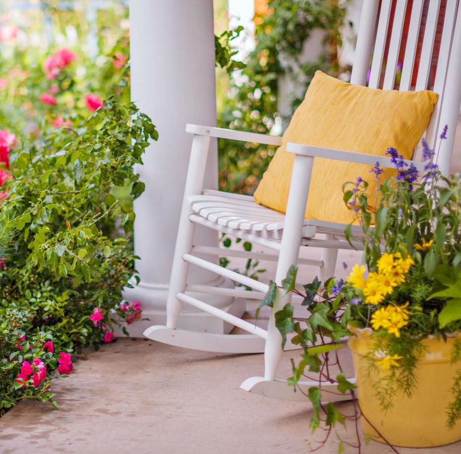 Весняний ґанок — 50 ідей з фото