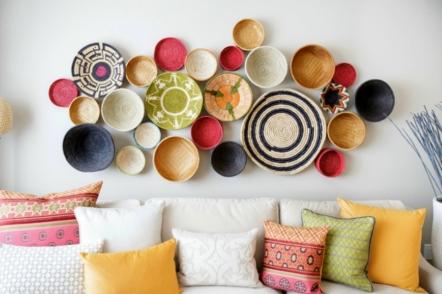 Чим прикрасити стіну в інтер'єрі, або Килими знову в моді?