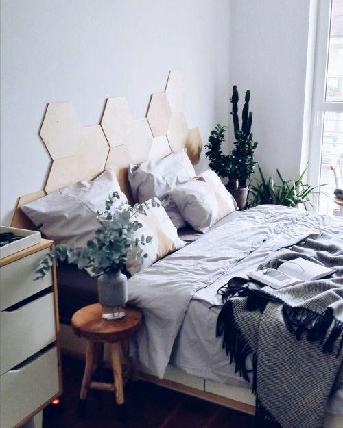 Узголів'я ліжка - соти