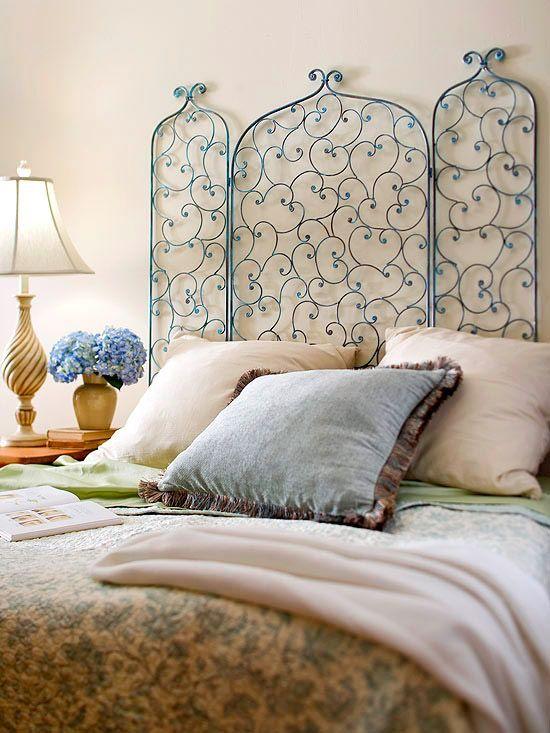 Узголів'я ліжка - ширми