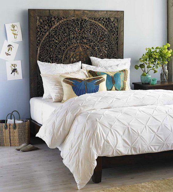 Узголів'я ліжка у східному стилі