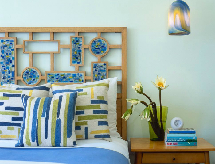 Креативне узголів'я ліжка