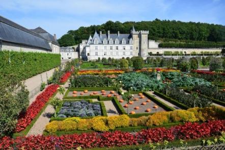 Сади замку Віландрі і його знаменитий декоративний город