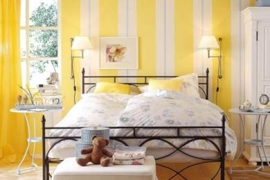 Жовтий колір в інтер'єрі