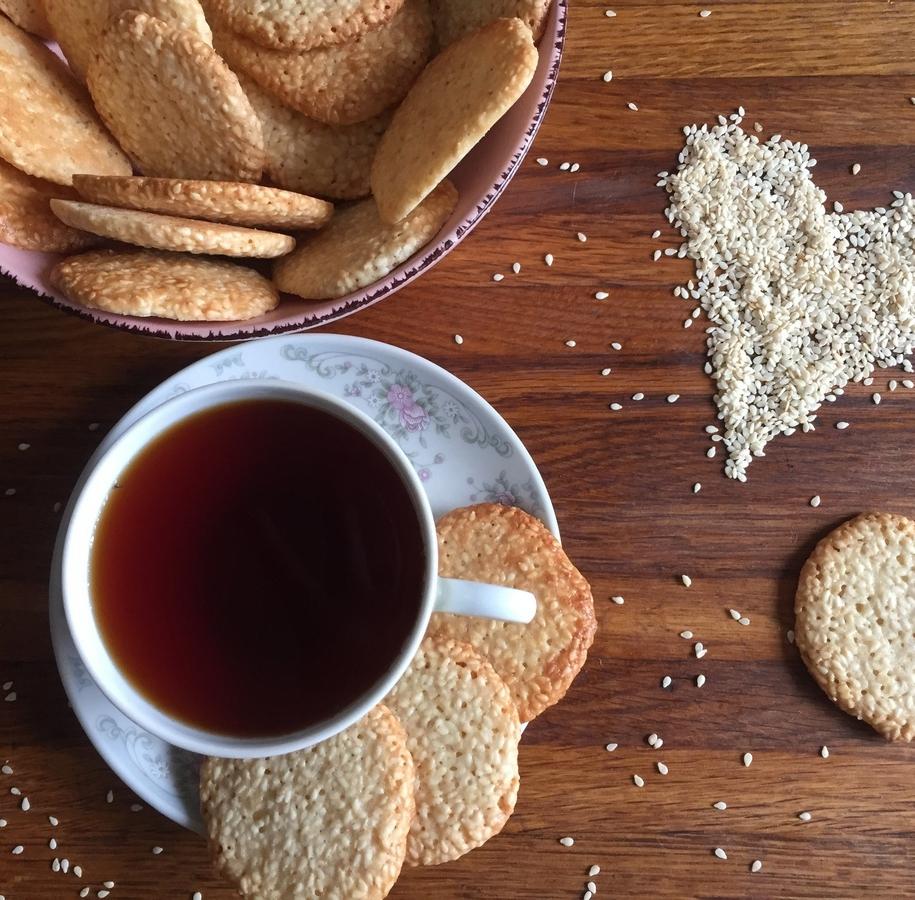 Кунжутне печиво за 15 хвилин — коли хочеться солоденького