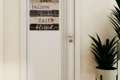 Міжкімнатні двері в інтер'єрі
