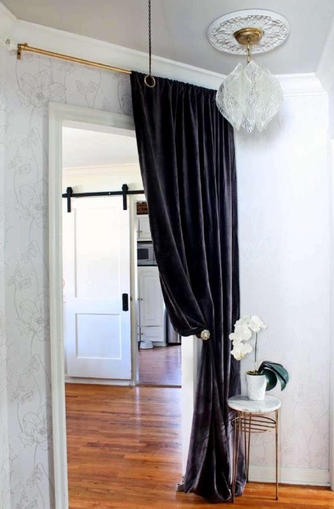 Нестандартне використання штор у інтер`єрі