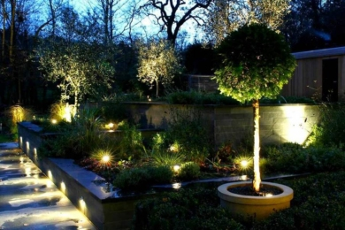 Освітлення саду та подвір'я