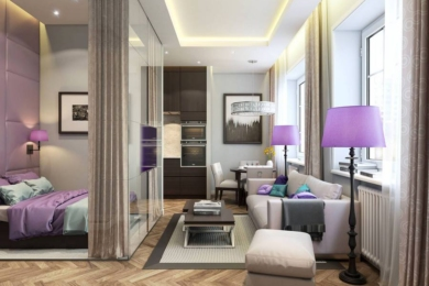 Дизайн квартири-студії