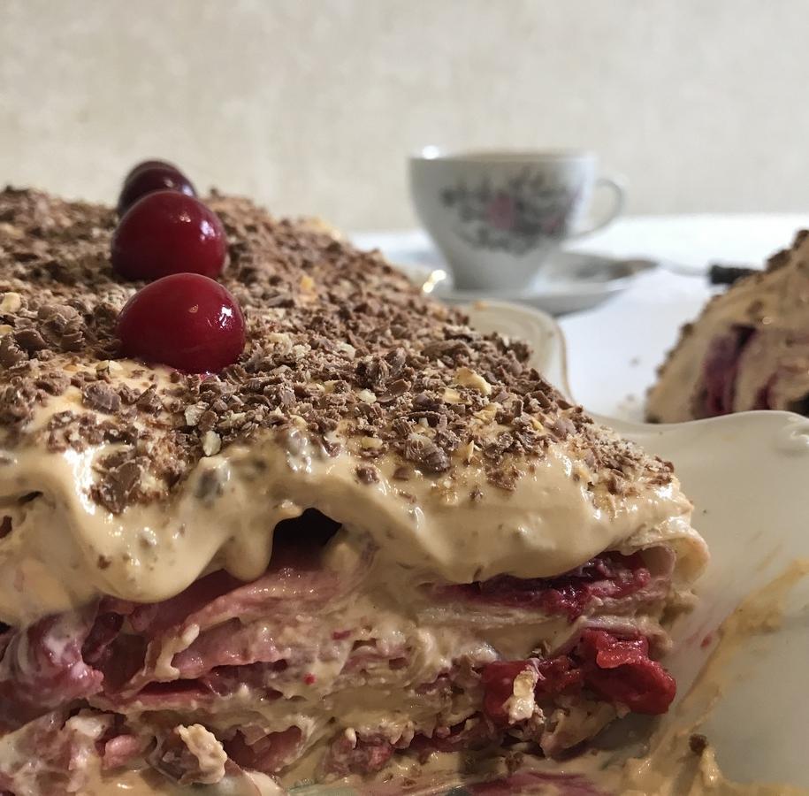 Торт без випічки з лавашу — сама ніжність!