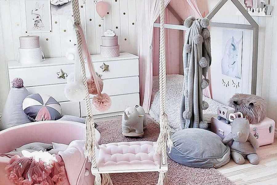 Дитяча кімната для дівчинки — 28 ідей з фото