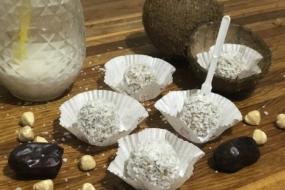 Домашні цукерки з кокосової стружки — солодкі і без цукру!