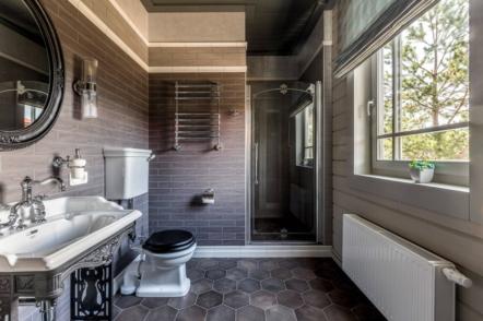 Дизайн ванної кімнати у заміському будинку — 30 ідей з фото