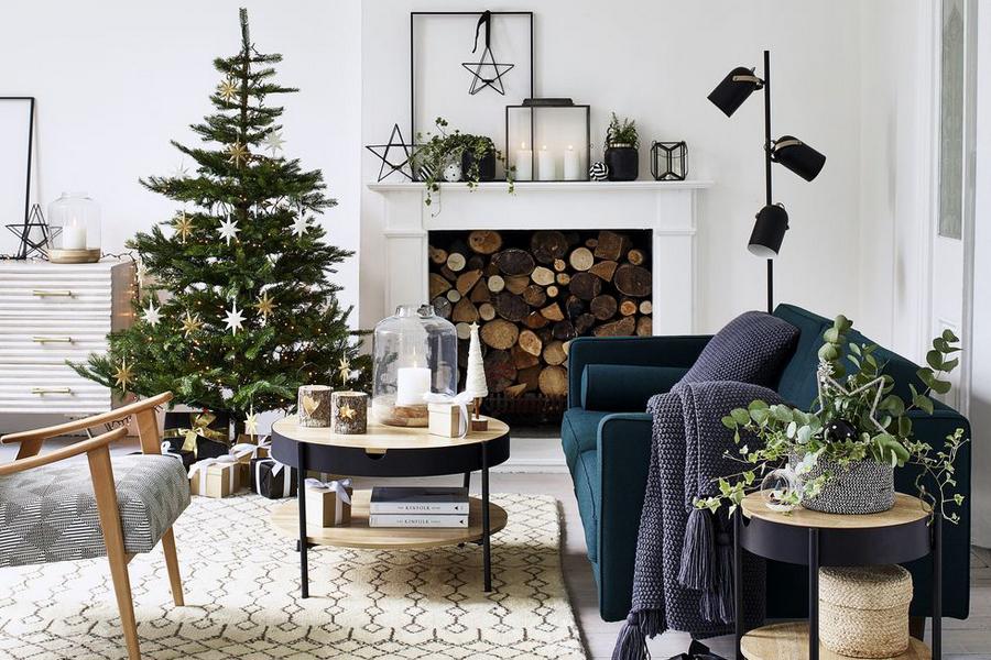 Новорічний декор у скандинавському стилі — 40 ідей з фото
