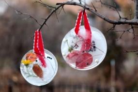Новорічний декор з льоду для вашого саду — 30 ідей з фото