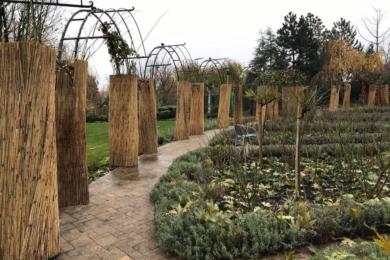 Сад «Трояндарій в арках» готовий до зими