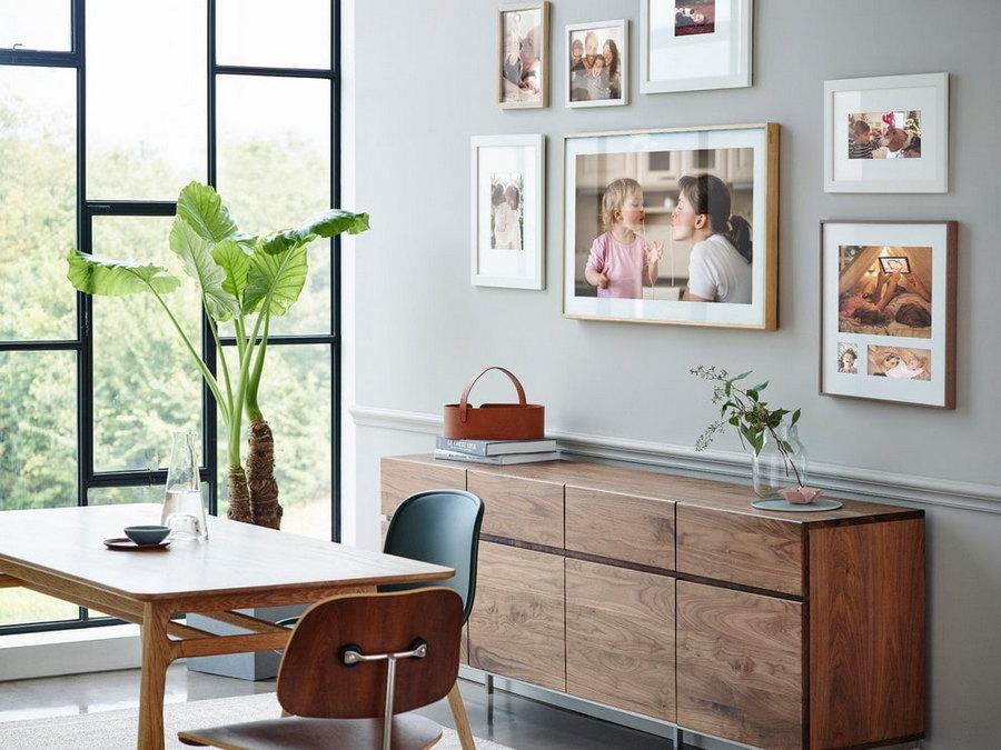 Як розмістити фото в інтер'єрі — 30 ідей з фото