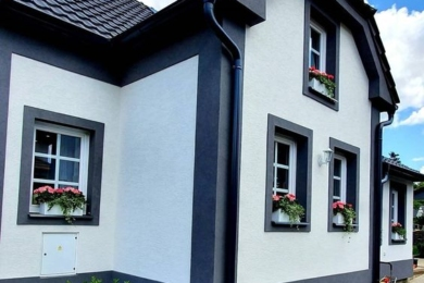 Фарбований будинок