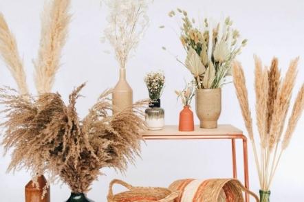 Альтернатива зрізаним квітам в інтер'єрі — 40 ідей з фото