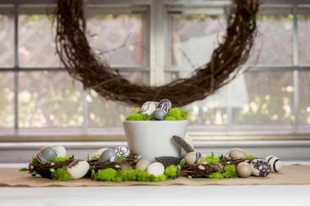 Великодній декор у природному стилі — 30 ідей з фото