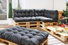 Садові меблі своїми руками — 30 ідей з фото