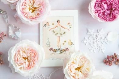 Красиві та елегантні троянди «Кіра» та «Міренда» чудово поєднуються, створюючи чарівні листівки до свята